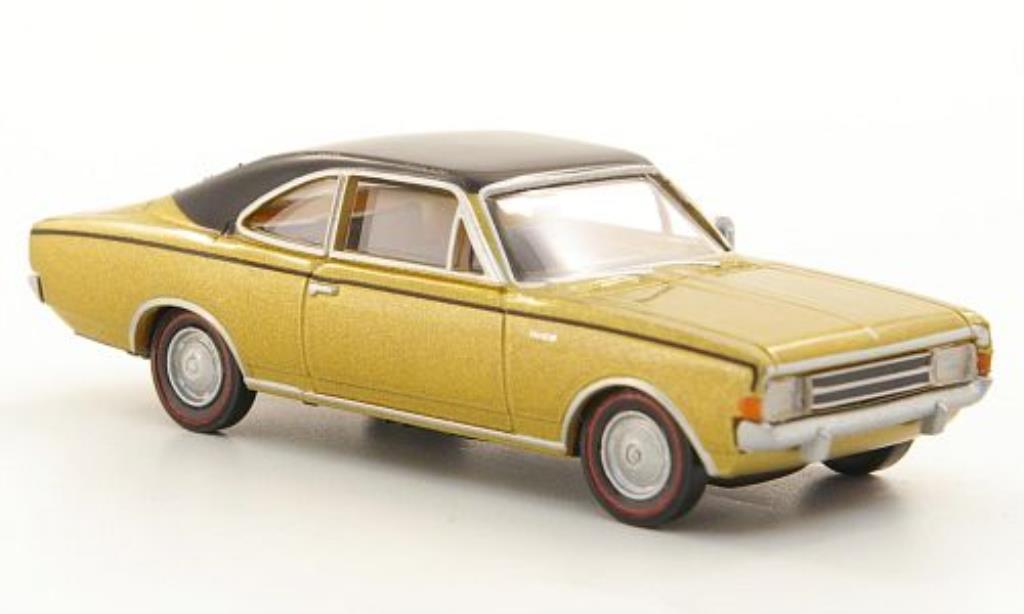 opel rekord c coupe gold schwarz mcw modellauto 1 87. Black Bedroom Furniture Sets. Home Design Ideas