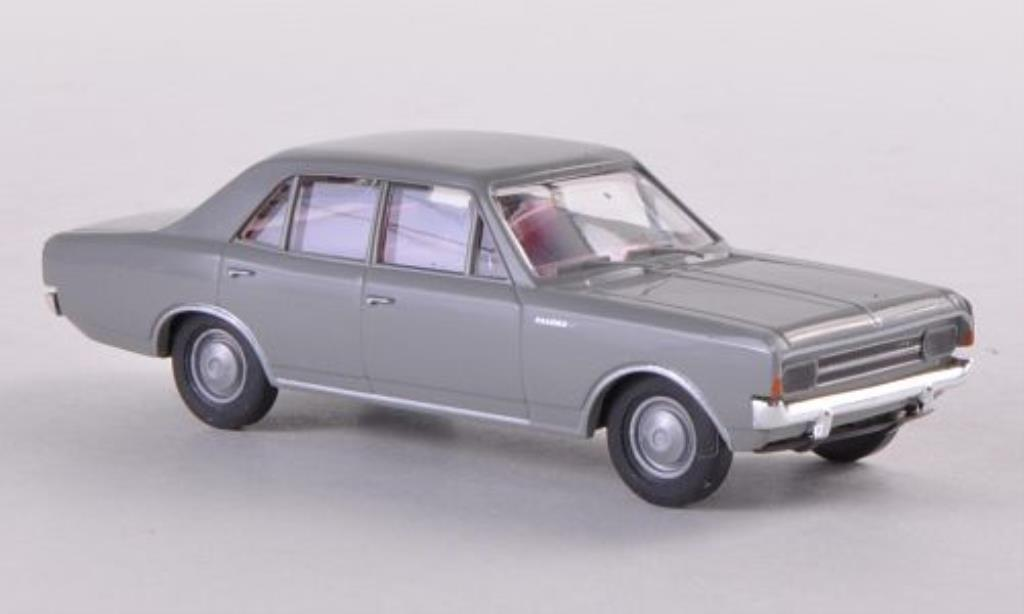 Opel Rekord 1/87 Brekina C grise miniature