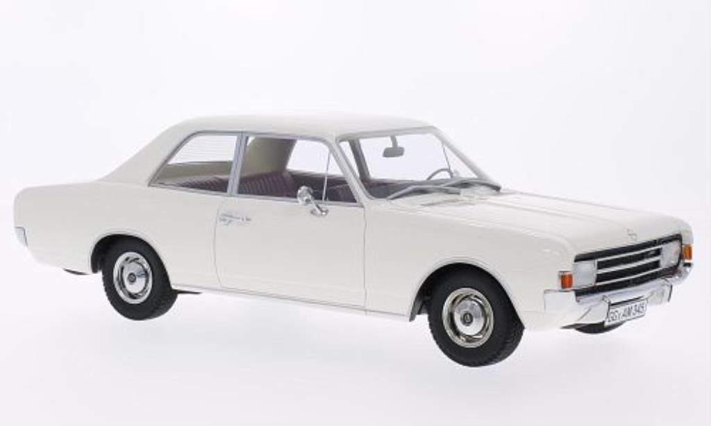 Opel Rekord 1/18 Minichamps C Limousine blanche 1966 miniature