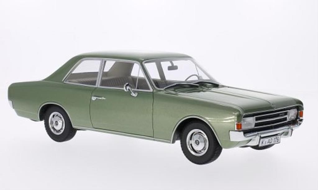 Opel Rekord 1/18 Minichamps C verte 1966 miniature