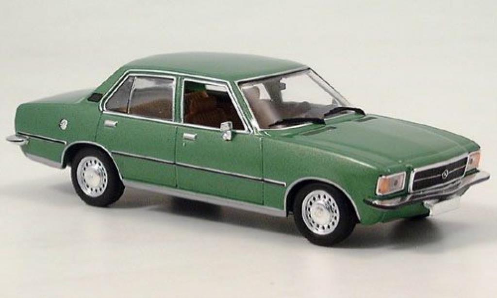Opel Rekord 1/43 Minichamps D verte 1975 miniature