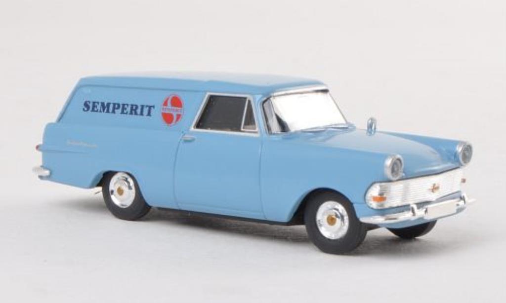 Opel Rekord 1/87 Brekina P2 Kasten Semperit (A) miniature