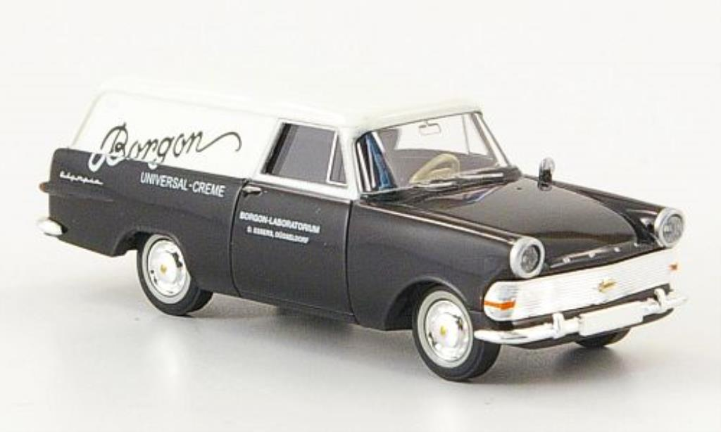 Opel Rekord 1/87 Brekina PII Kasten Borgon miniature