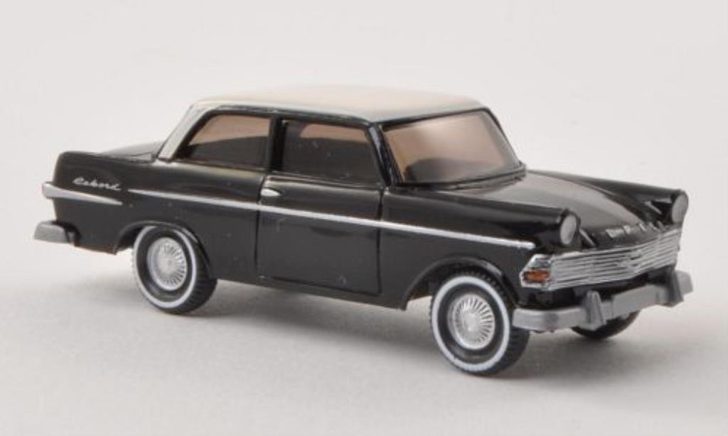 Opel Rekord 1/87 Wiking P2 noire/elfenbein 1960 miniature