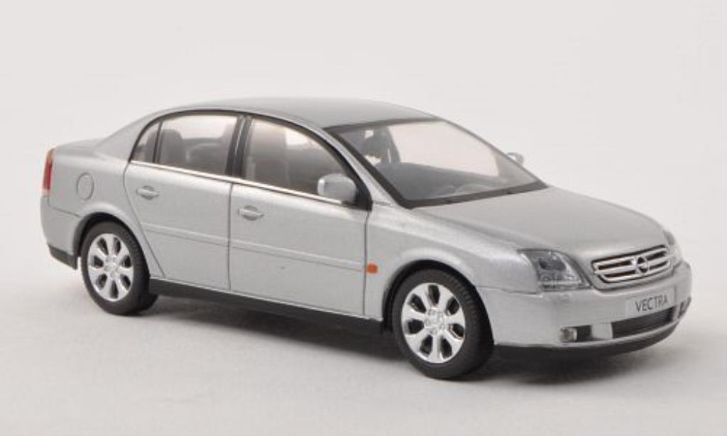 Opel Vectra 1/43 Schuco C grise-grise Stufenheck 2002 miniature