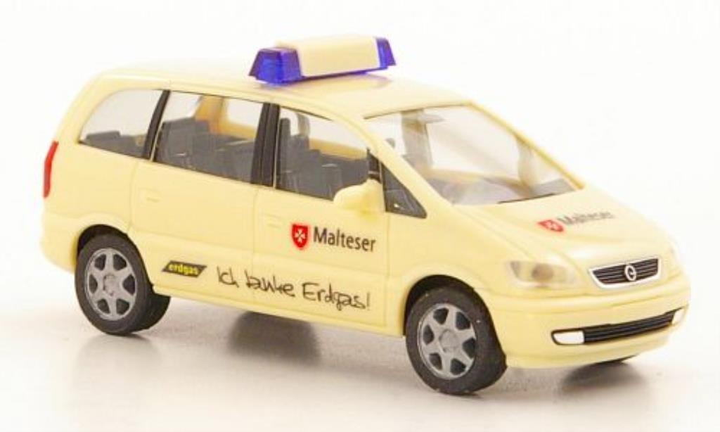 Opel Zafira 1/87 Herpa Malteser miniature