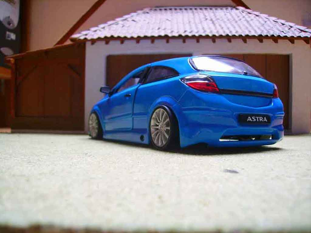 Opel Astra Miniature Gtc Opc Welly 1 18 Voiture