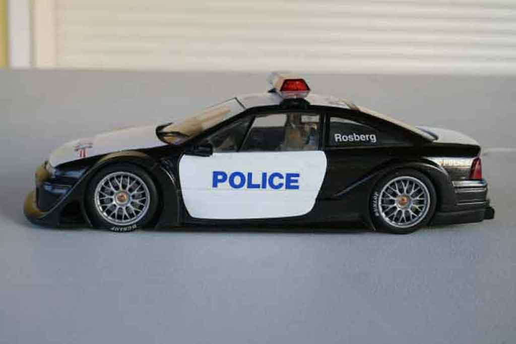 opel calibra miniature turbo police nationale ut models 1 18 voiture. Black Bedroom Furniture Sets. Home Design Ideas