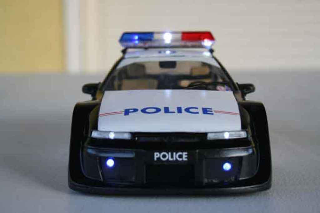 opel calibra turbo police nationale ut models modellauto 1. Black Bedroom Furniture Sets. Home Design Ideas