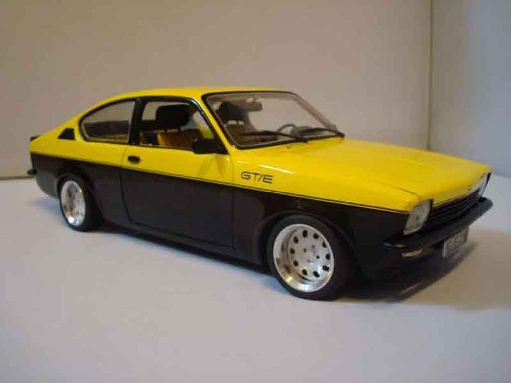 Opel Kadett coupe 1/18 Minichamps coupe c / gte 1976 tuning miniature