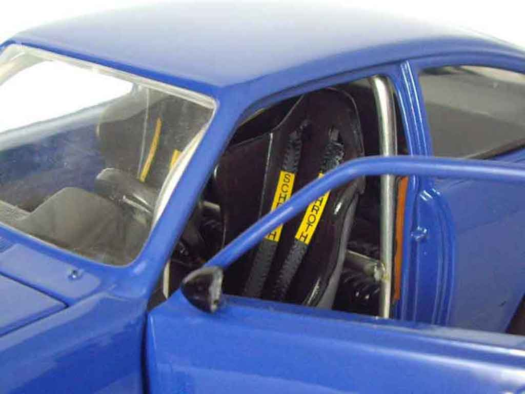 Opel Kadett coupe 1/18 Minichamps sr 1976 blue
