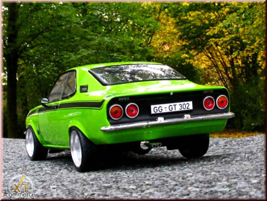 NOREV 183634 Manta A GT//E 1975 BIANCO NERO 1:18