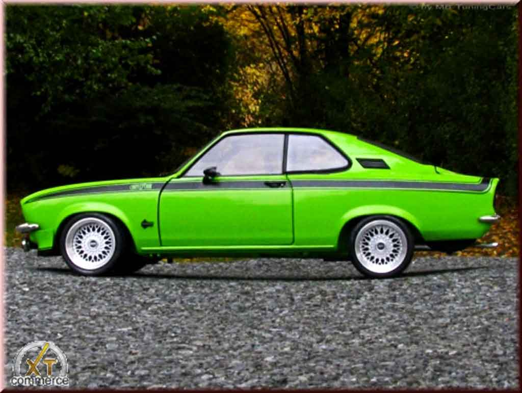 opel manta gt e green 1975 wheels bbs big offset norev diecast model car 1 18 buy sell diecast. Black Bedroom Furniture Sets. Home Design Ideas