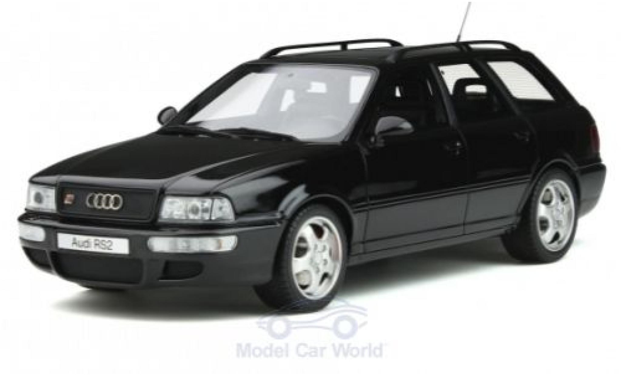 Audi RS2 1/18 Ottomobile noire 1994