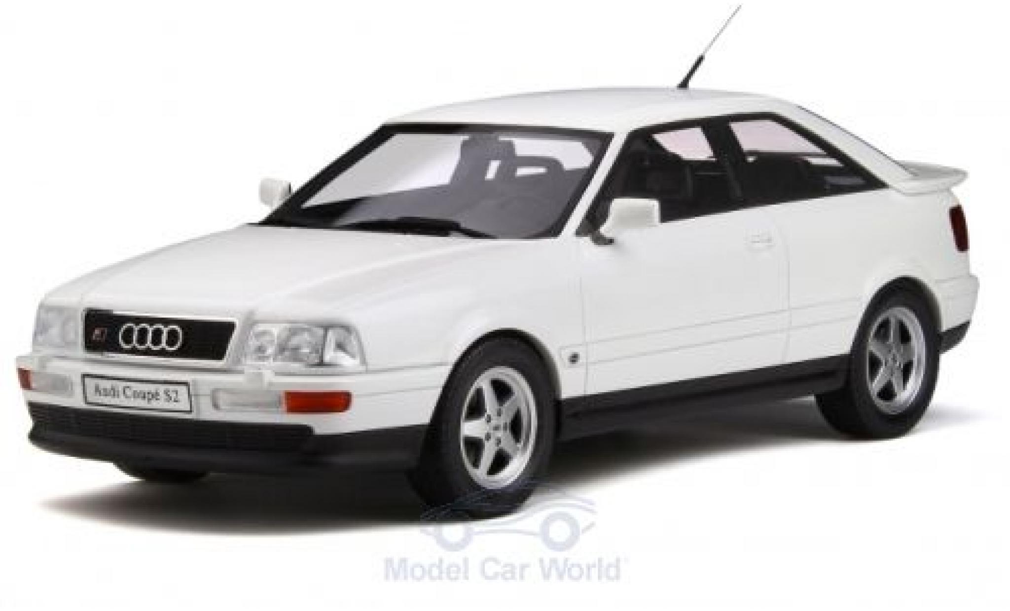 Audi S2 1/18 Ottomobile métallisé blanche 1991