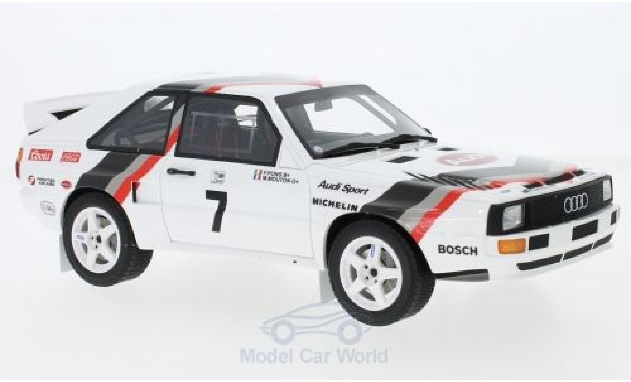 Audi Sport Quattro 1/18 Ottomobile Sport quattro No.7 Pikes Peak 1984 M.Mouton