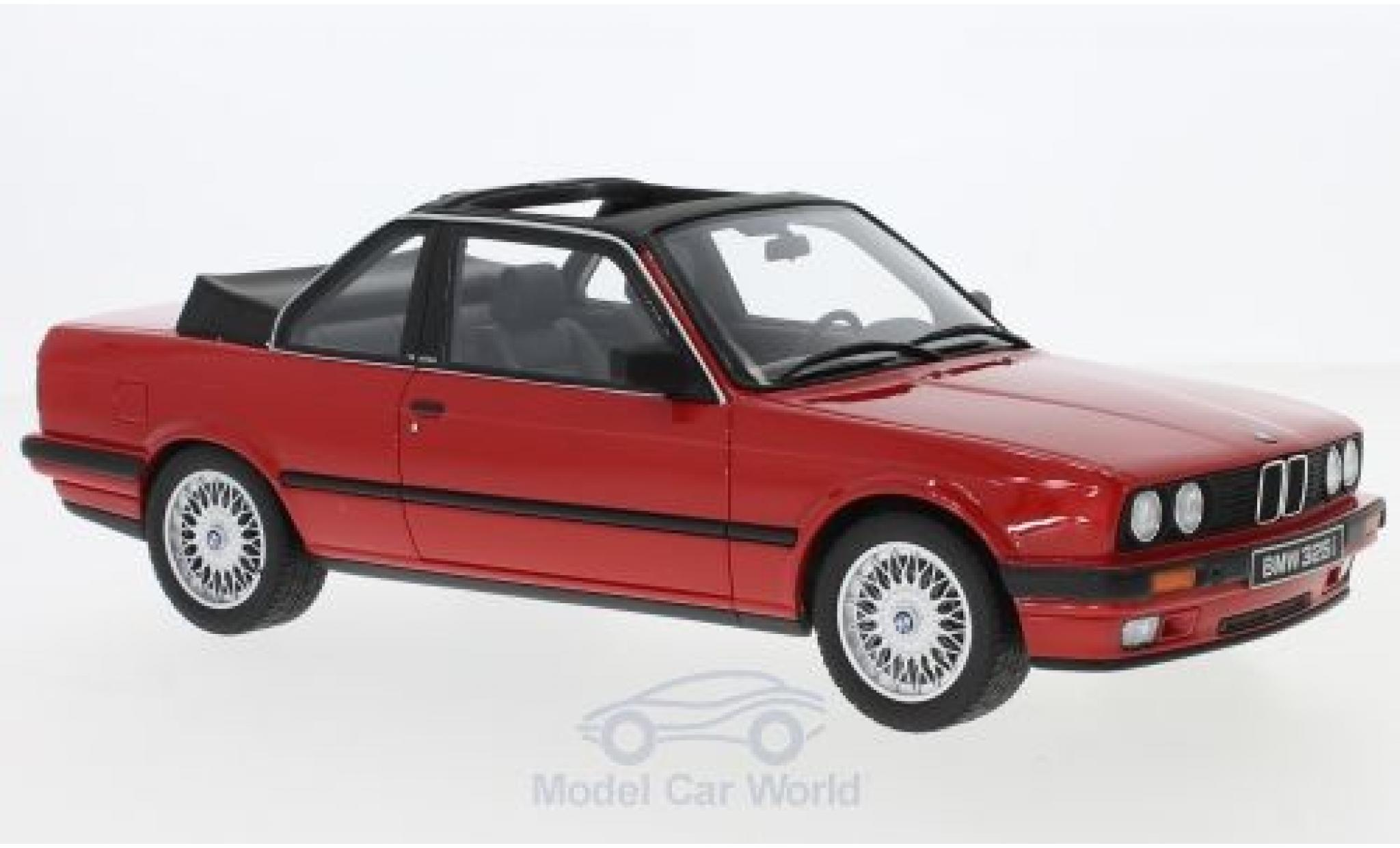 Bmw 325 1/18 Ottomobile i (E30) Baur rouge 1988