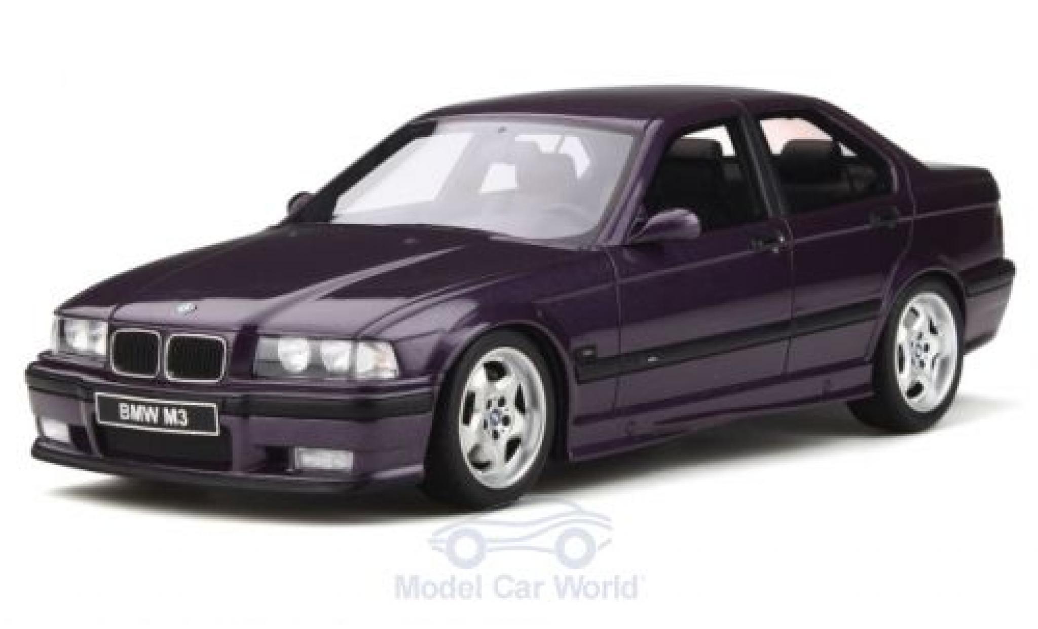 Bmw M3 1/18 Ottomobile (E36) métallisé violette