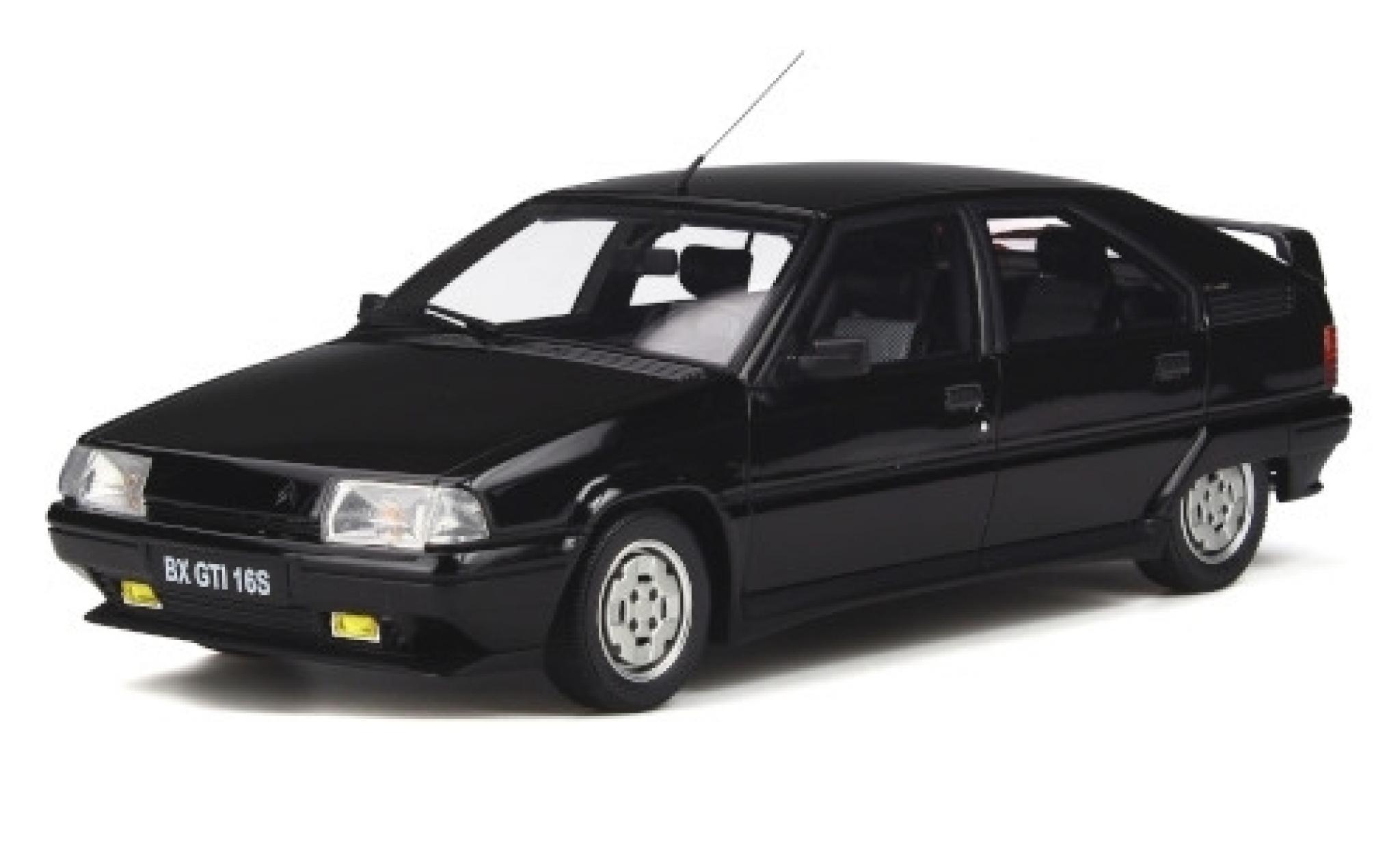 Citroen BX 1/18 Ottomobile GTI 16S GTI noire 1987