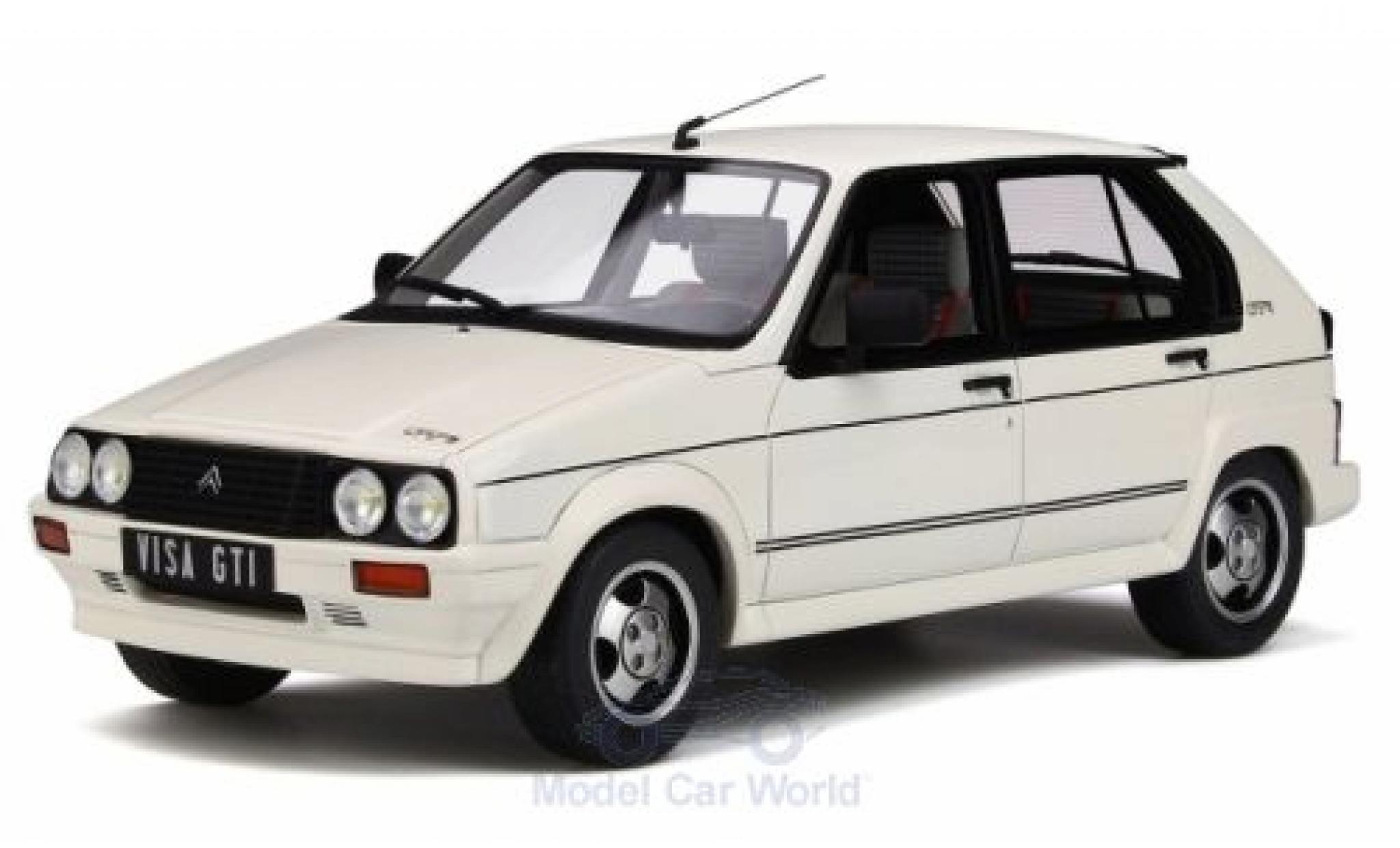 Citroen Visa 1/18 Ottomobile GTI white 1984