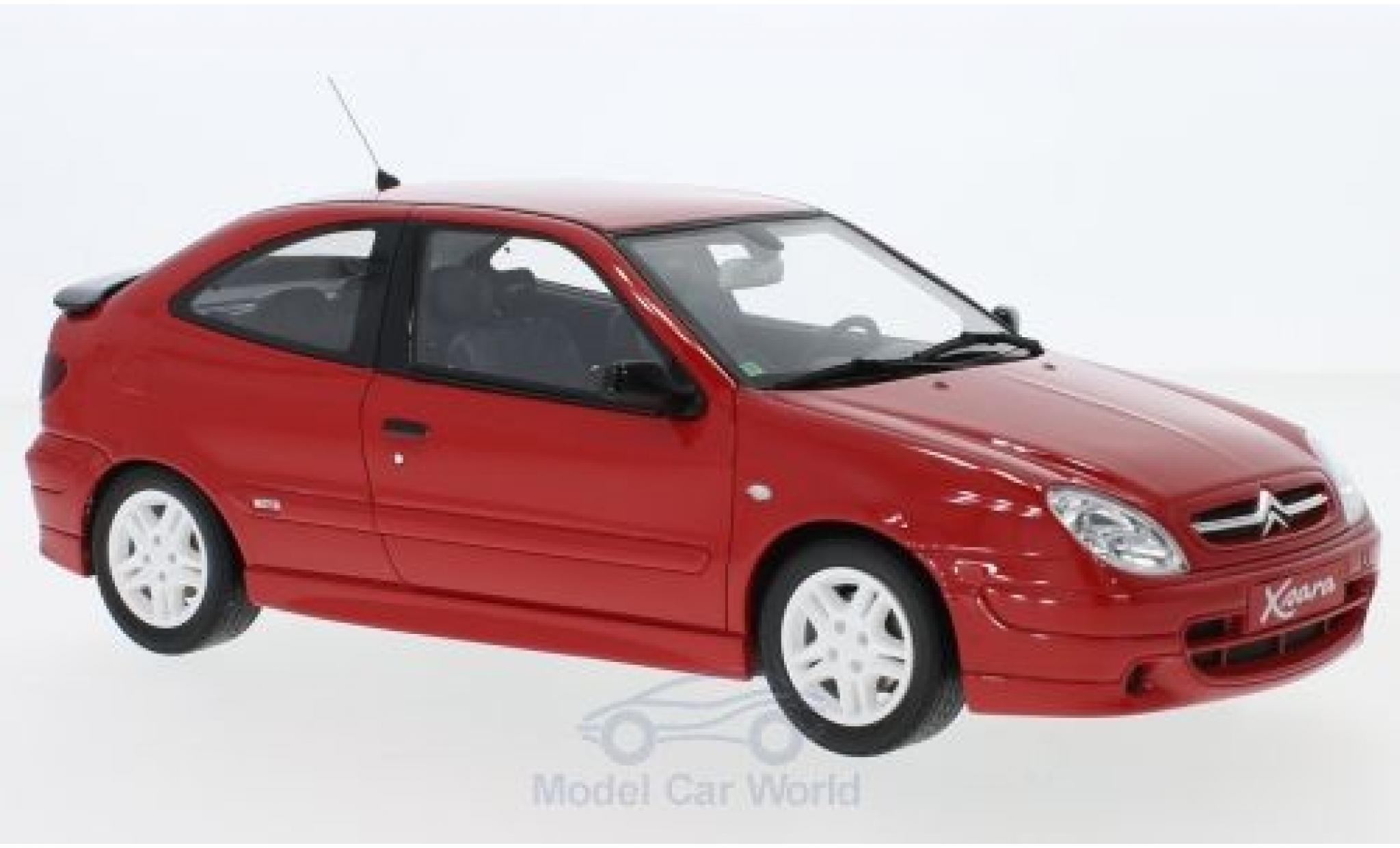 Citroen Xsara 1/18 Ottomobile Sport Phase 1 rouge 2000
