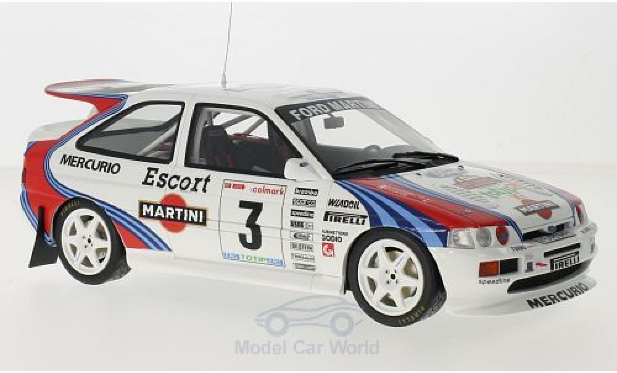 Ford Escort 1/18 Ottomobile RS Cosworth Gr.A No.3 Martini Rallye Mille Miglia 1995 F.Cunico/S.Evangelisti