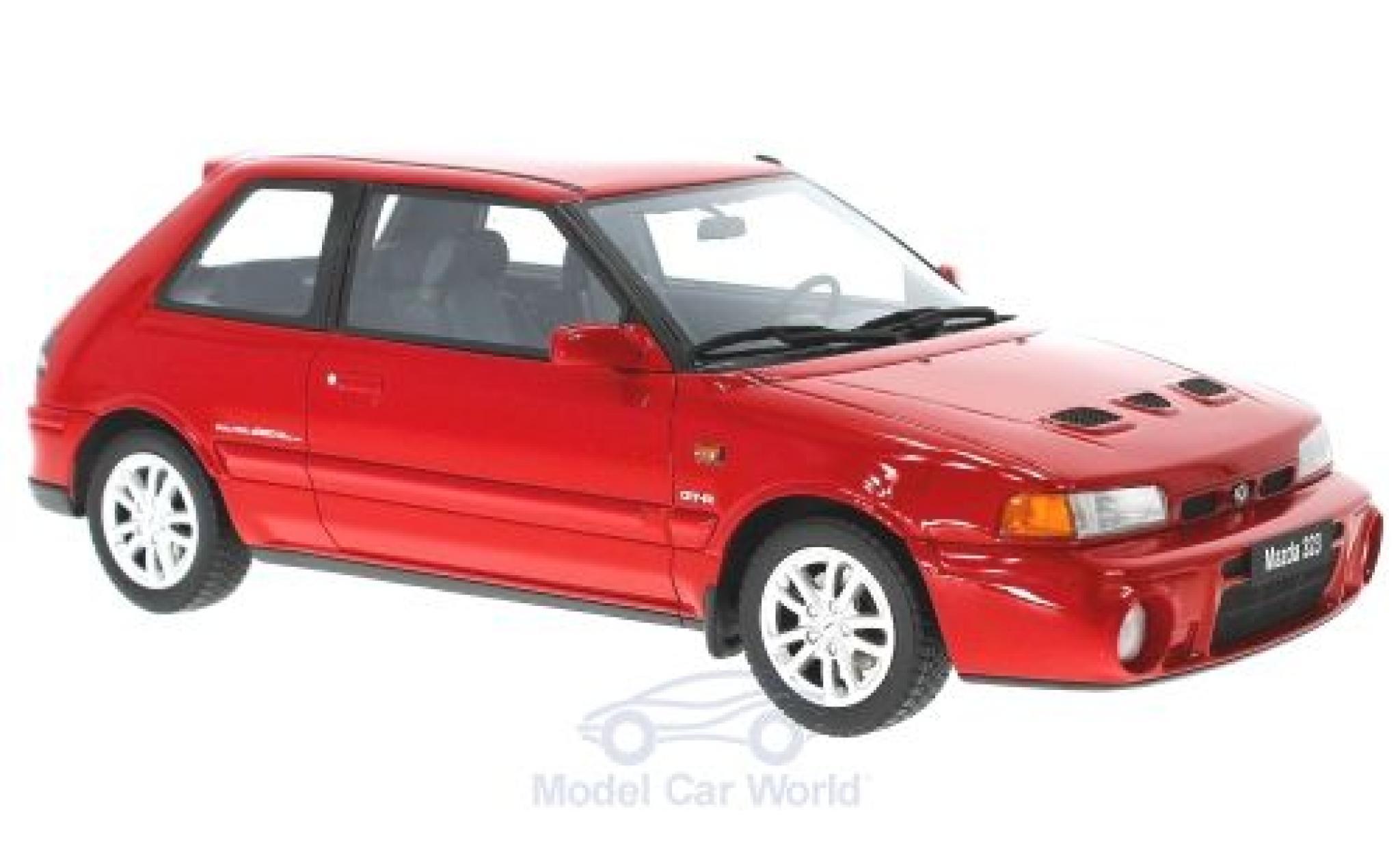 Mazda 323 1/18 Ottomobile GT-R rouge 1992