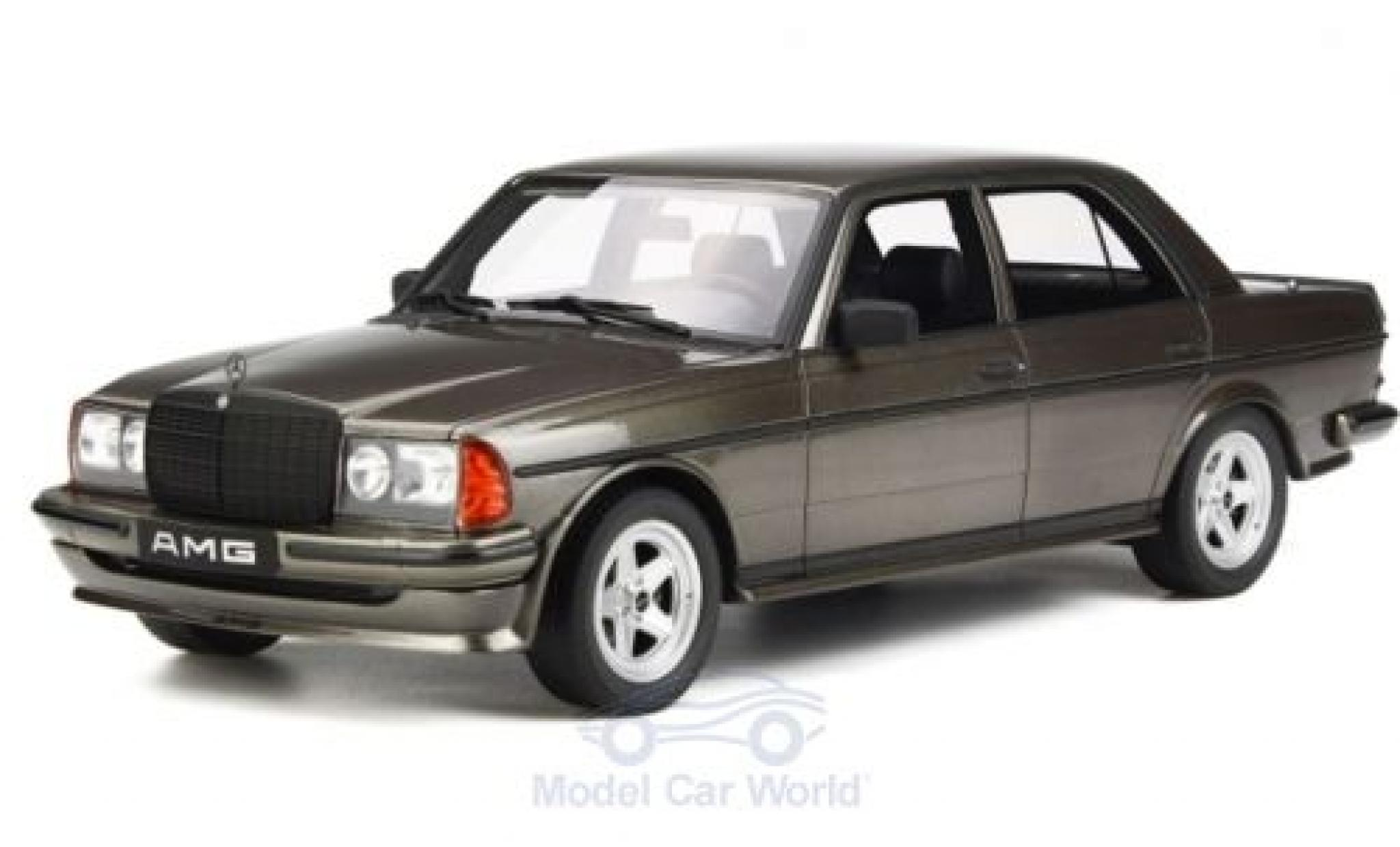 Mercedes 280 1980 1/18 Ottomobile AMG (W123) métallisé grise 1980