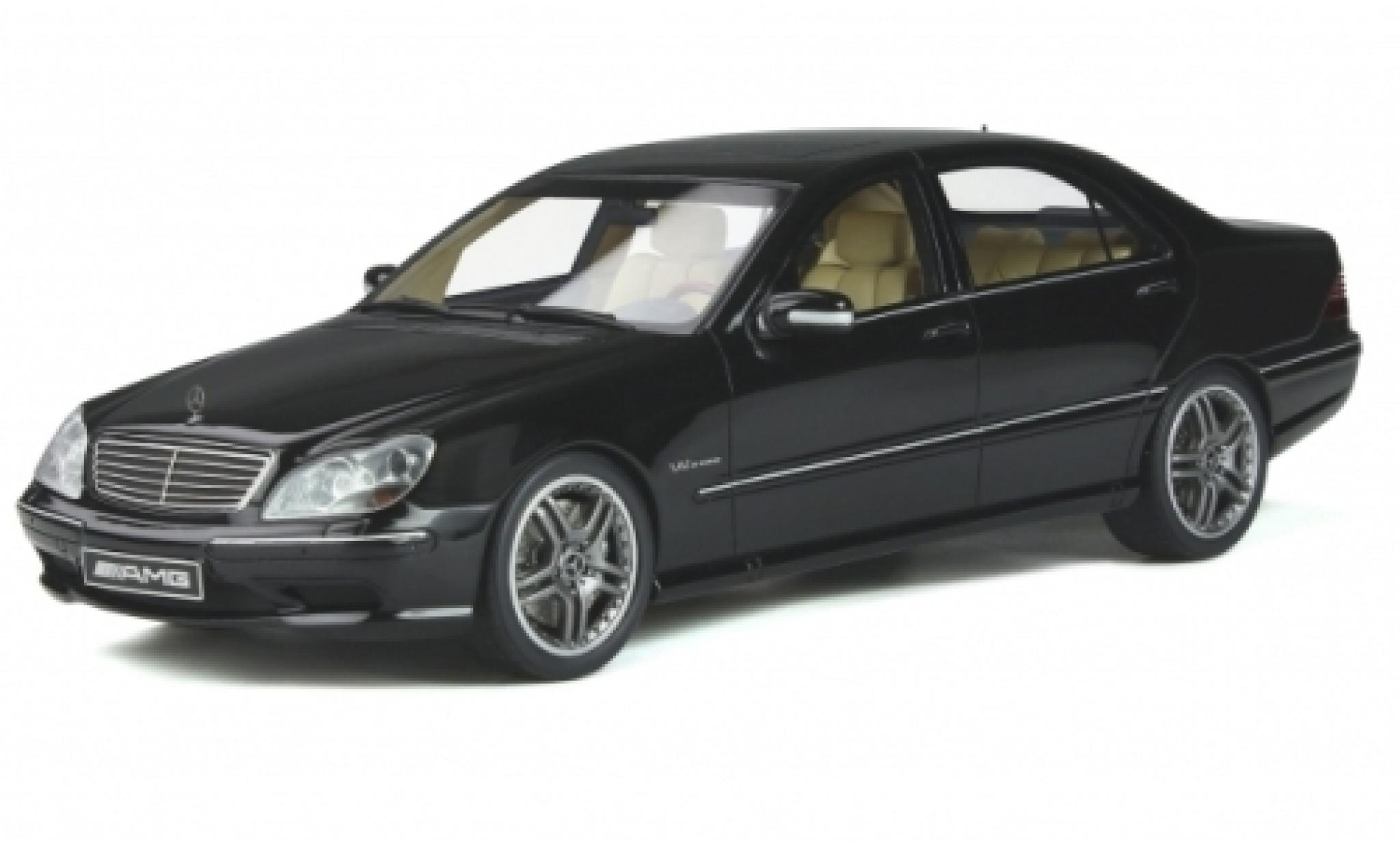Mercedes Classe S 1/18 Ottomobile S 65 AMG (W220) metallise black 2004