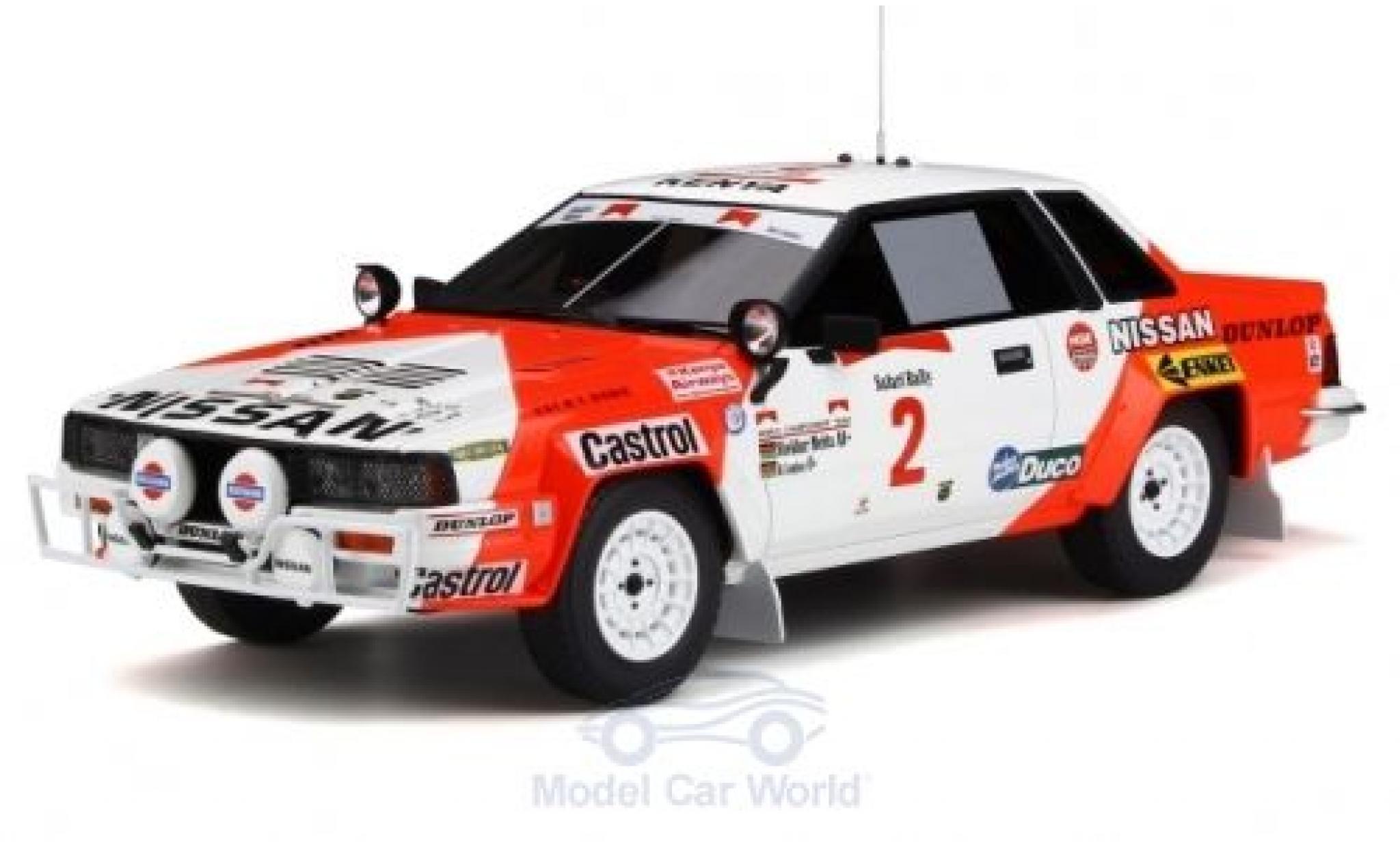 Nissan 240 1/18 Ottomobile RS RHD No.2 Rallye WM Rallye Safari 1984 S.Mehta/R.Combes