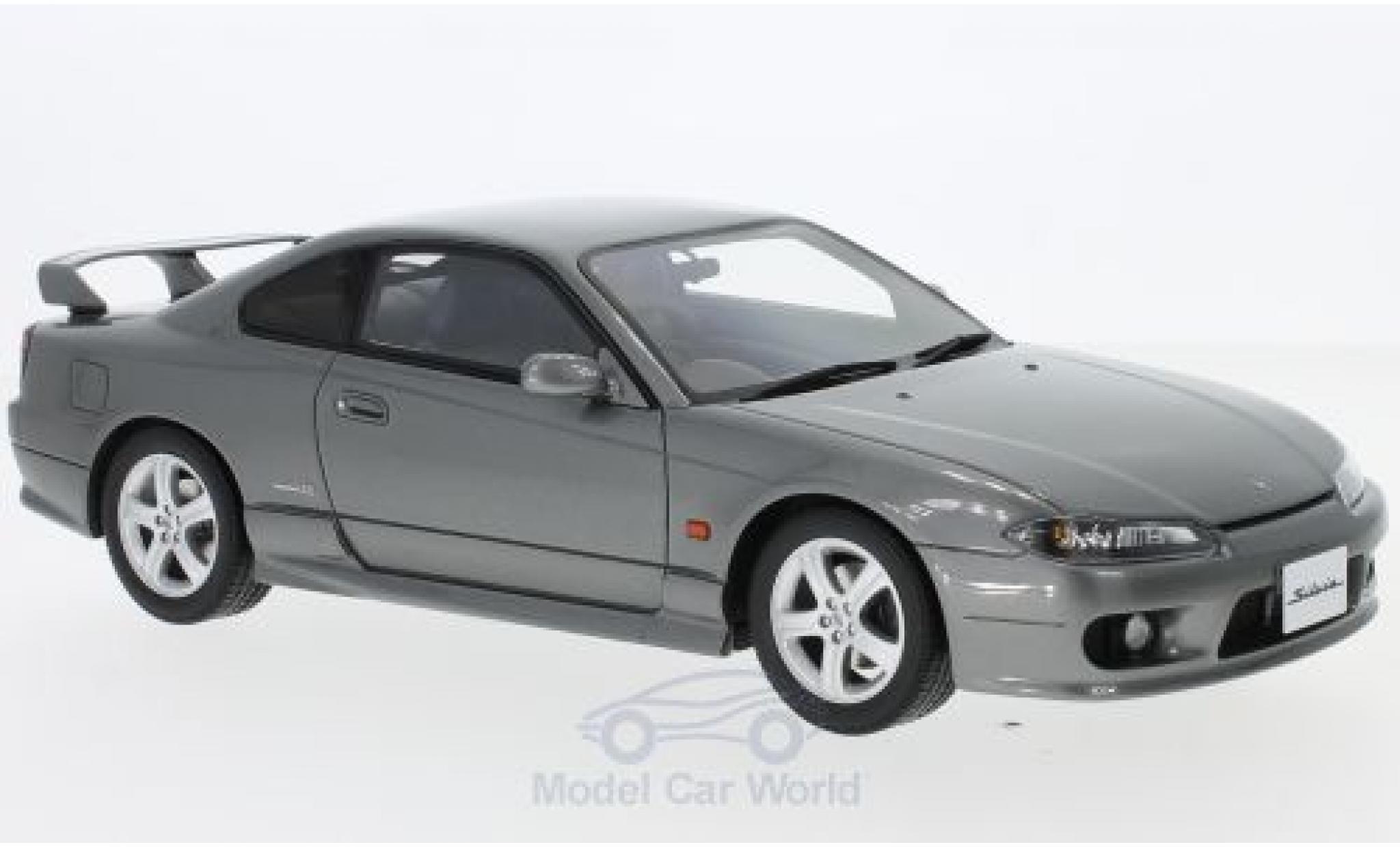 Nissan Silvia 1/18 Ottomobile Spec-R AERO (S15) metallise grise RHD 1999