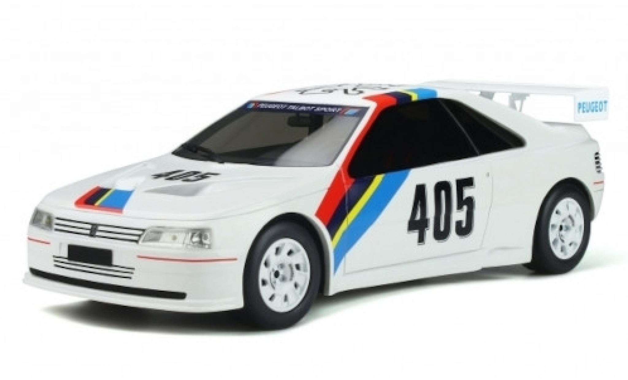 Peugeot 405 1/18 Ottomobile T16 Gr.5 blanche/Dekor No. Talbot Sport 1988