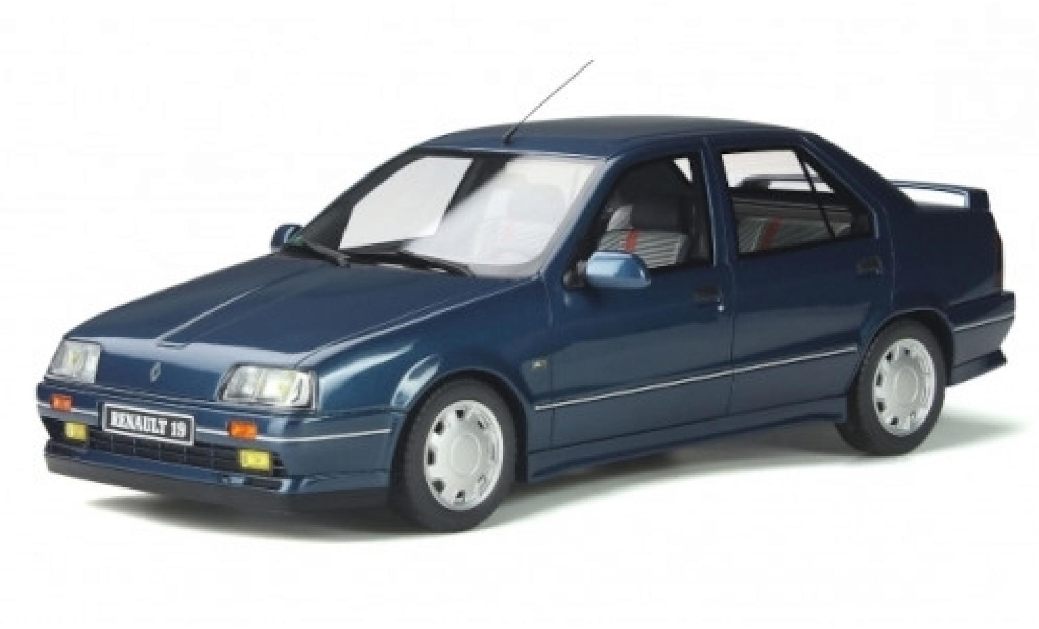 Renault 19 1/18 Ottomobile Chamade 16S Phase 1 metallise bleue 89