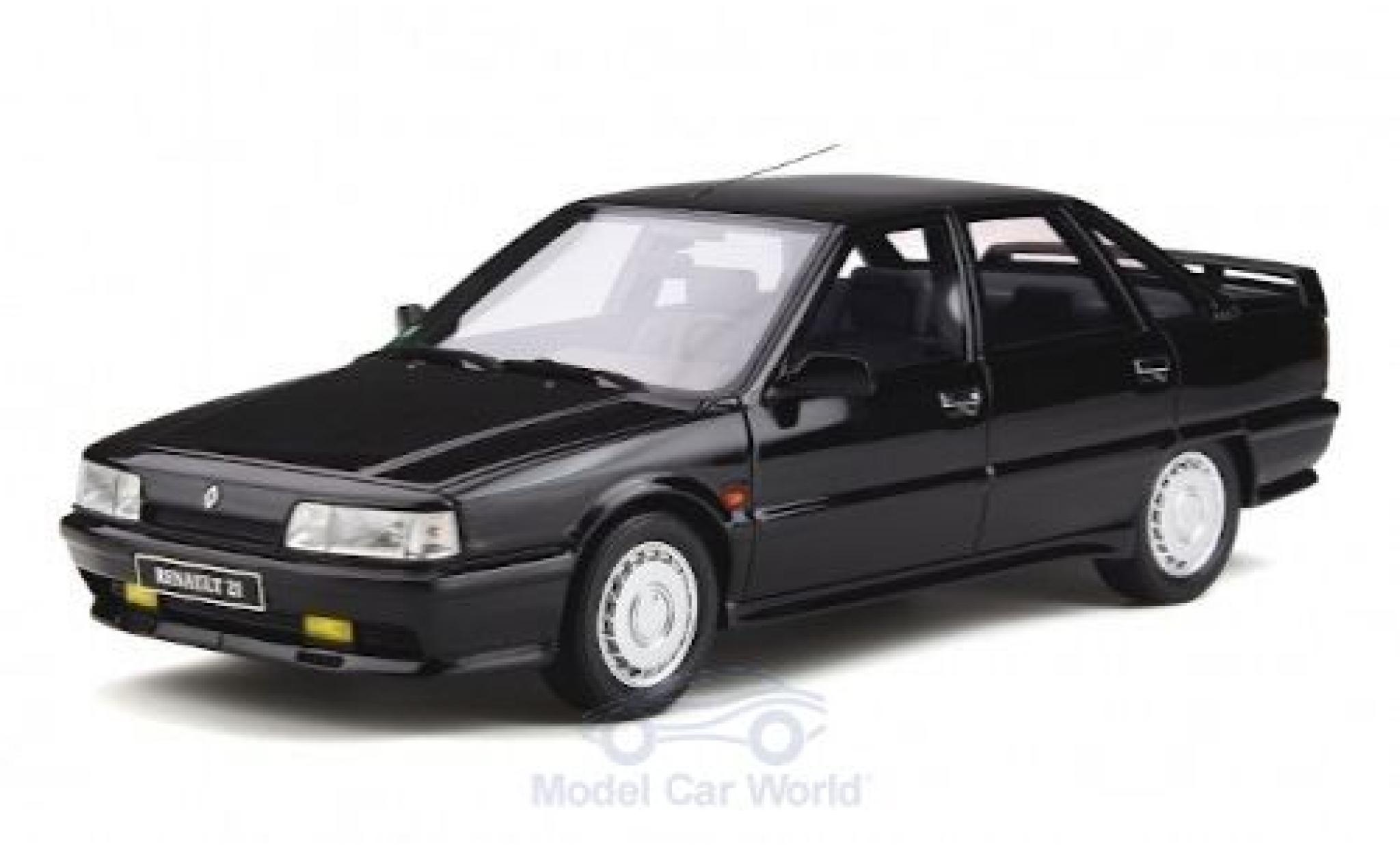 Renault 21 1/18 Ottomobile Turbo Phase 1 noire 1986