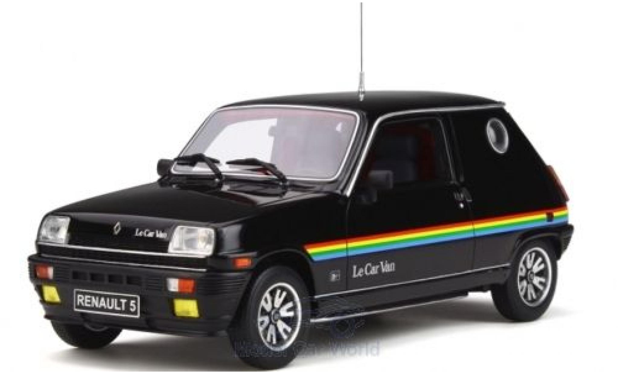 Renault 5 1/18 Ottomobile Le Car Van noire/Dekor 1980