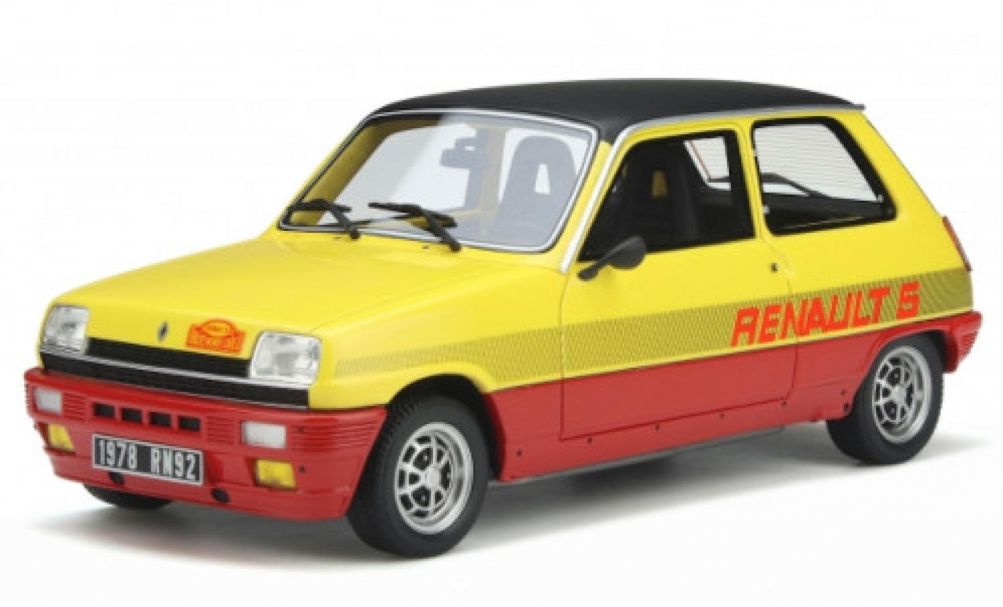 Renault 5 1/18 Ottomobile TS Monte Carlo yellow/red 1978