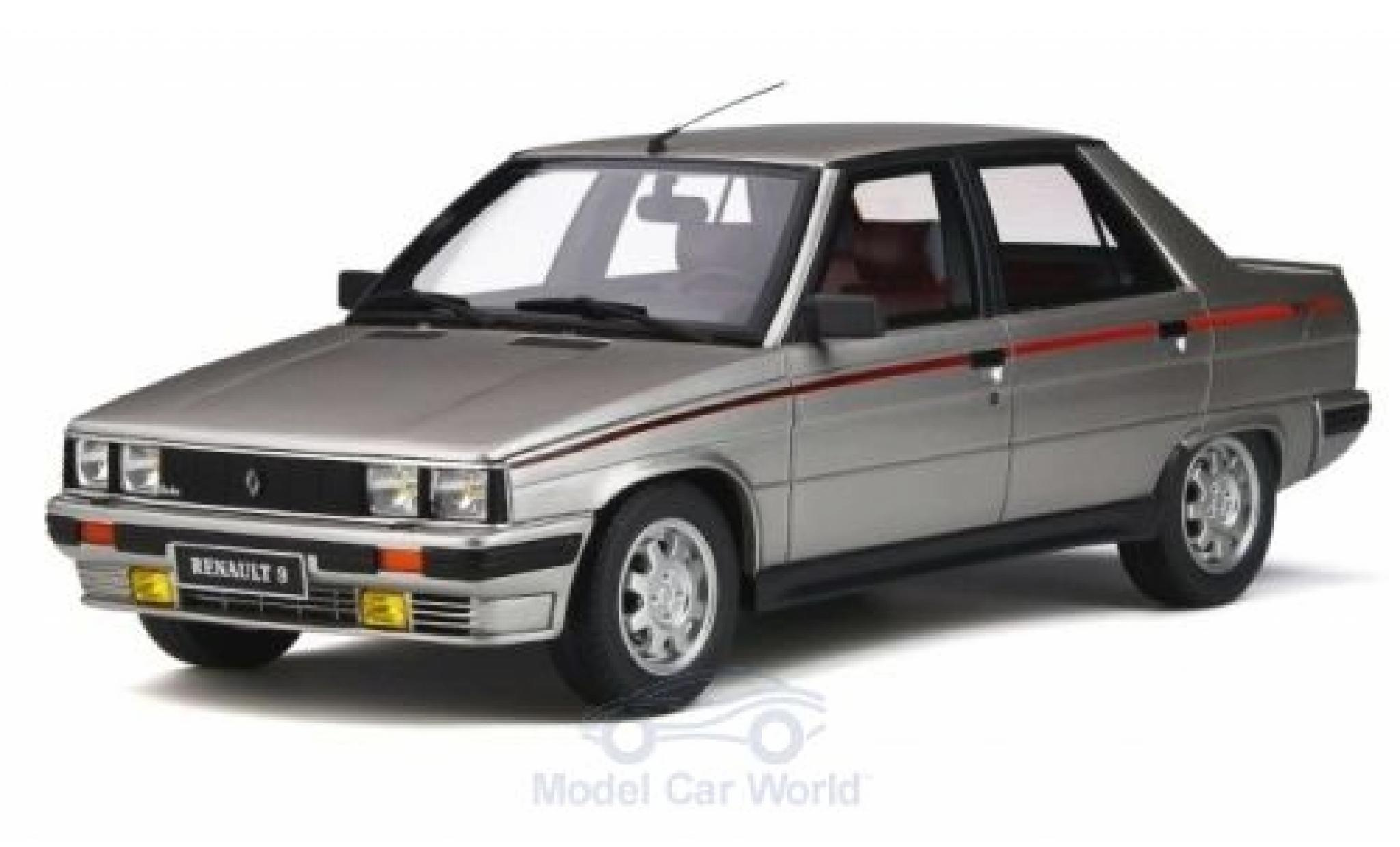 Renault 9 1/18 Ottomobile Turbo Phase 1 silber 184