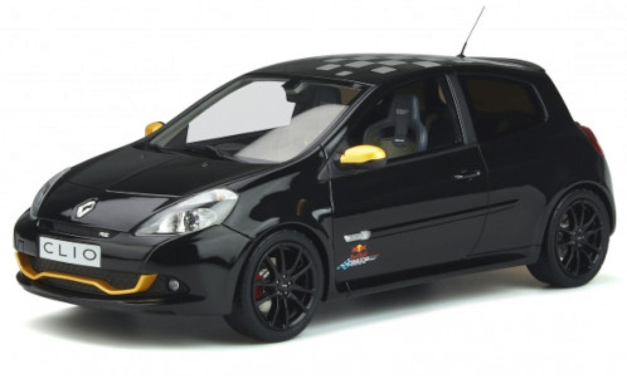Renault Clio 1/18 Ottomobile 3 R.S. Red Bull Racing RB7 noire/Dekor 2012