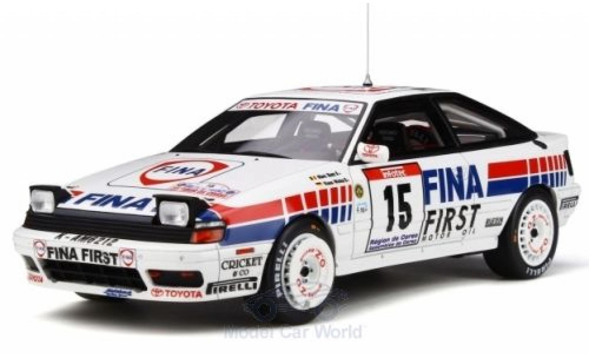 Toyota Celica 1/18 Ottomobile GT-Four (ST165) No.15 Fina Rallye WM Tour de Corse 1991 M.Duez/K.Wicha