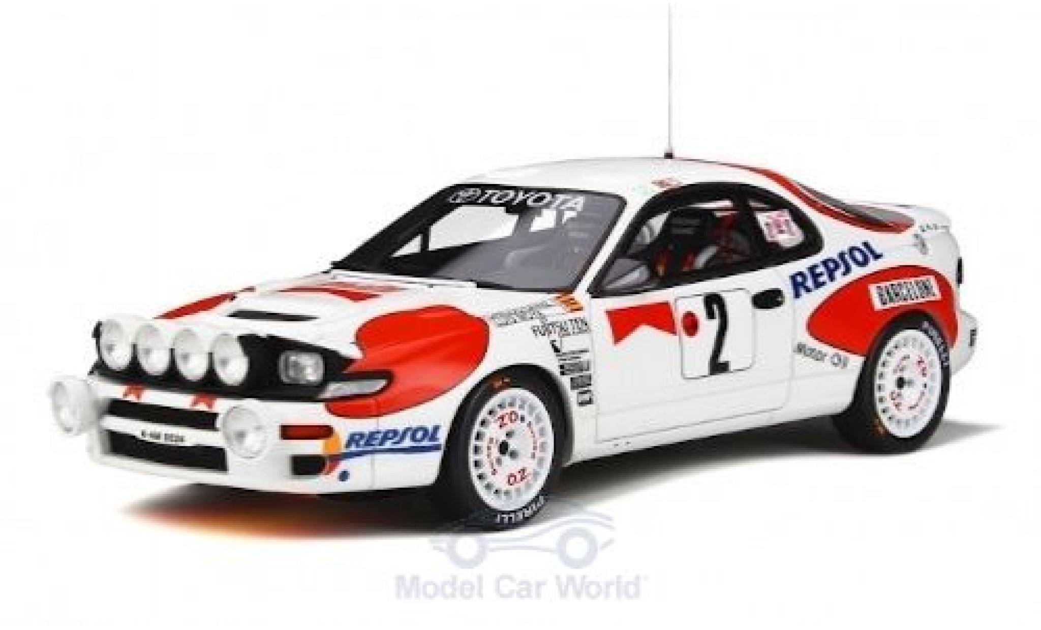 Toyota Celica 1/18 Ottomobile ST185 No.2 Rallye WM Rallye Monte Carlo 1992 C.Sainz/L.Moya