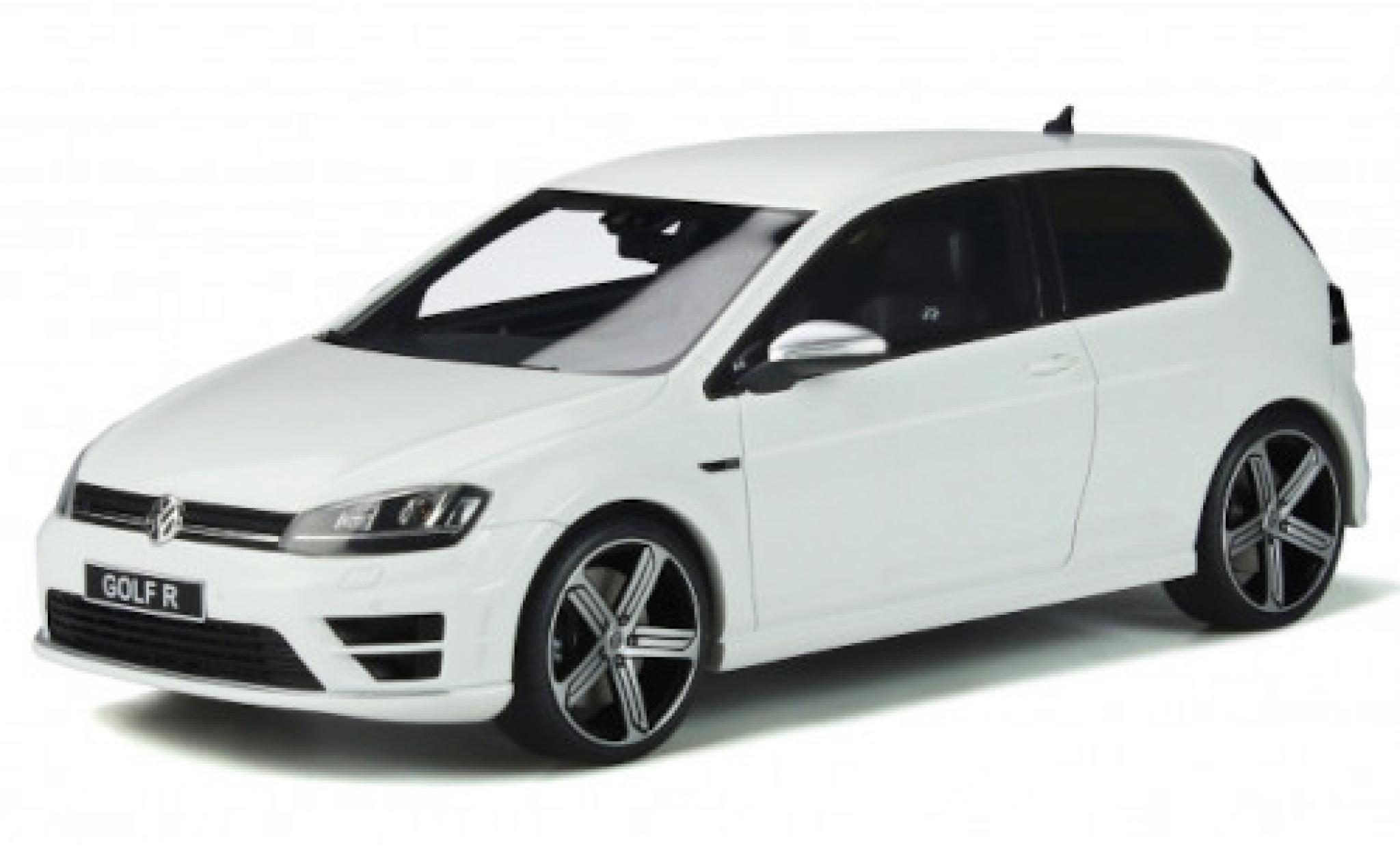 Volkswagen Golf 1/18 Ottomobile VII R blanche 2014
