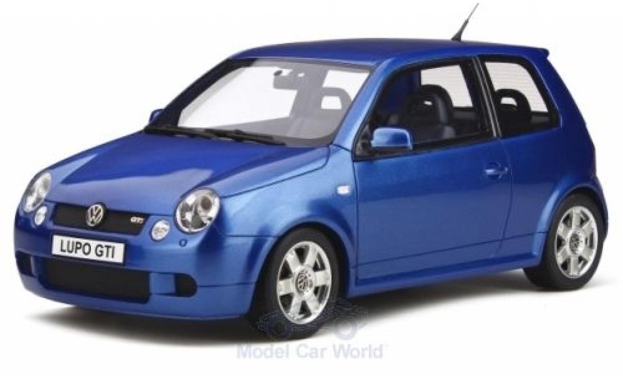 Volkswagen Lupo 1/18 Ottomobile GTI metallise bleue 2000