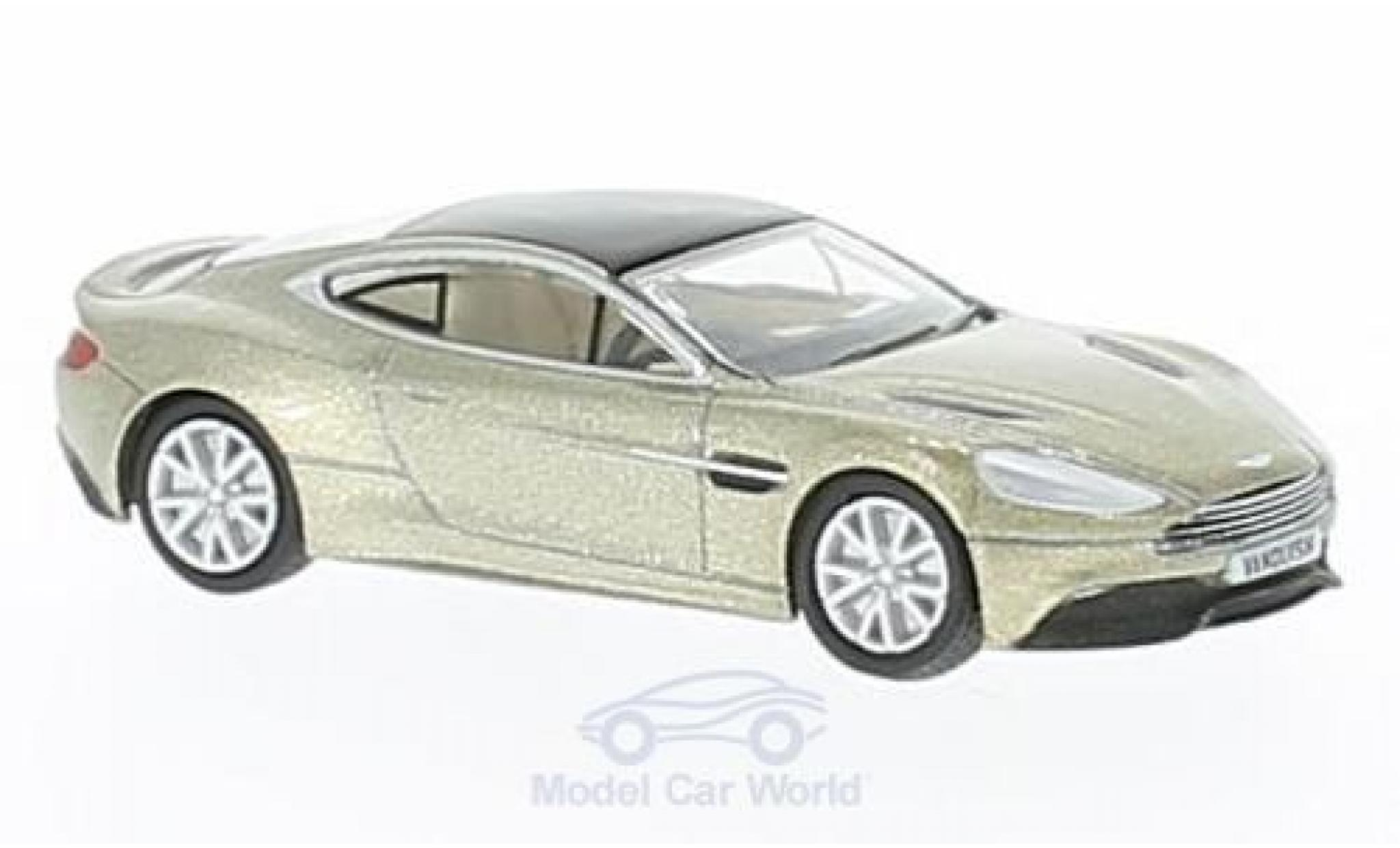 Aston Martin Vanquish 1/76 Oxford Coupe bronze RHD
