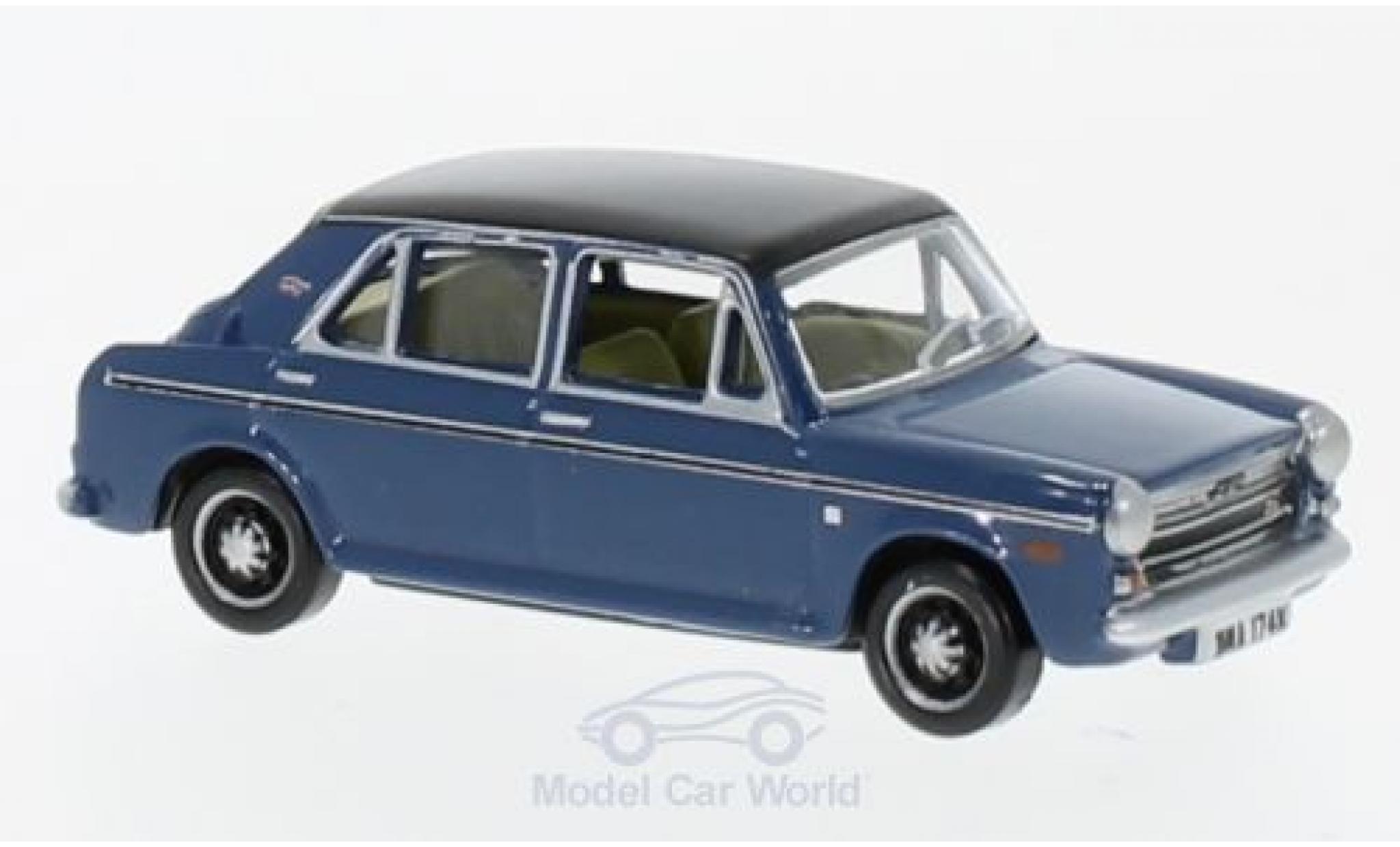 Austin 1300 1/76 Oxford bleue/noire RHD