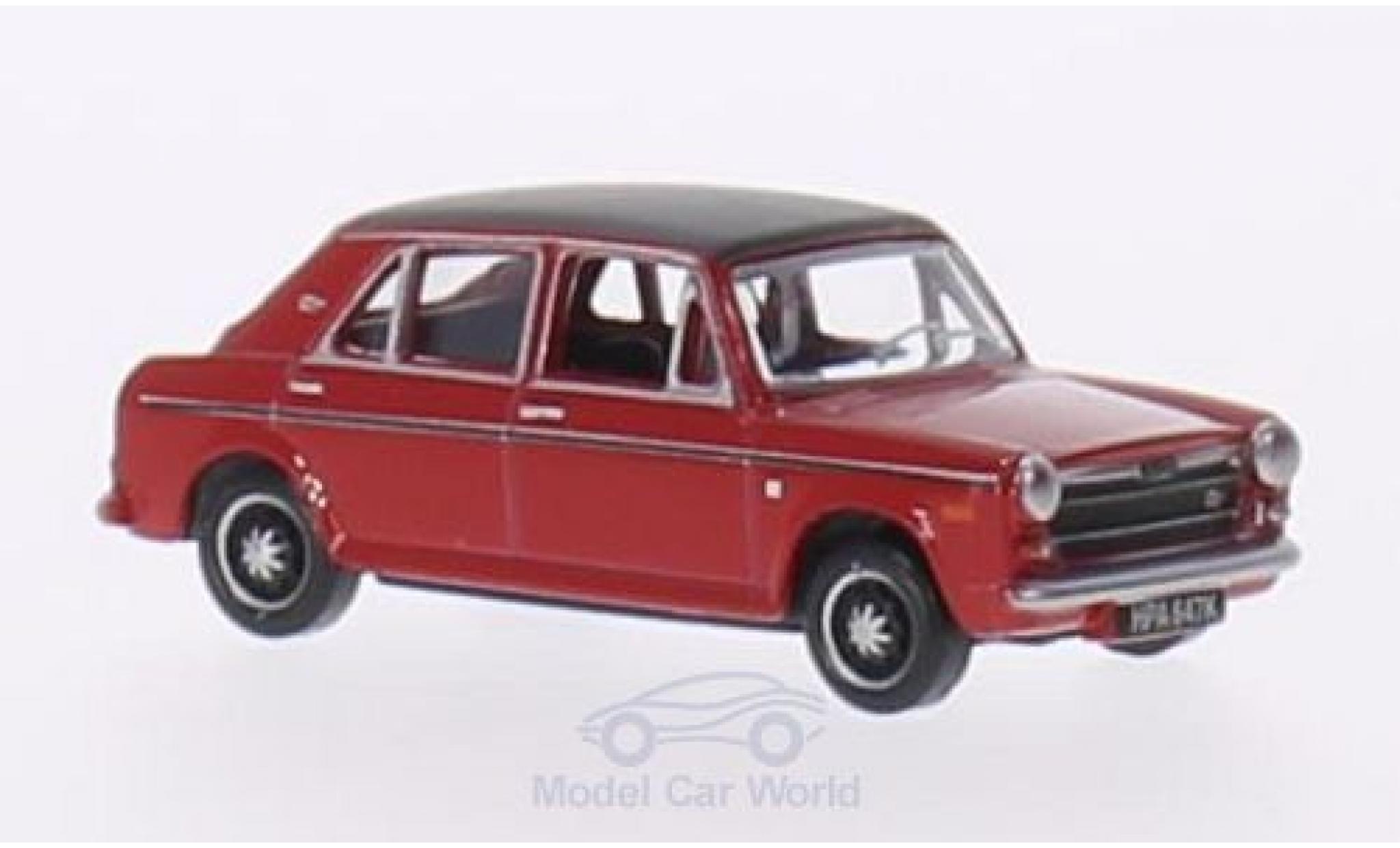 Austin 1300 1/76 Oxford rouge/matt-noire RHD