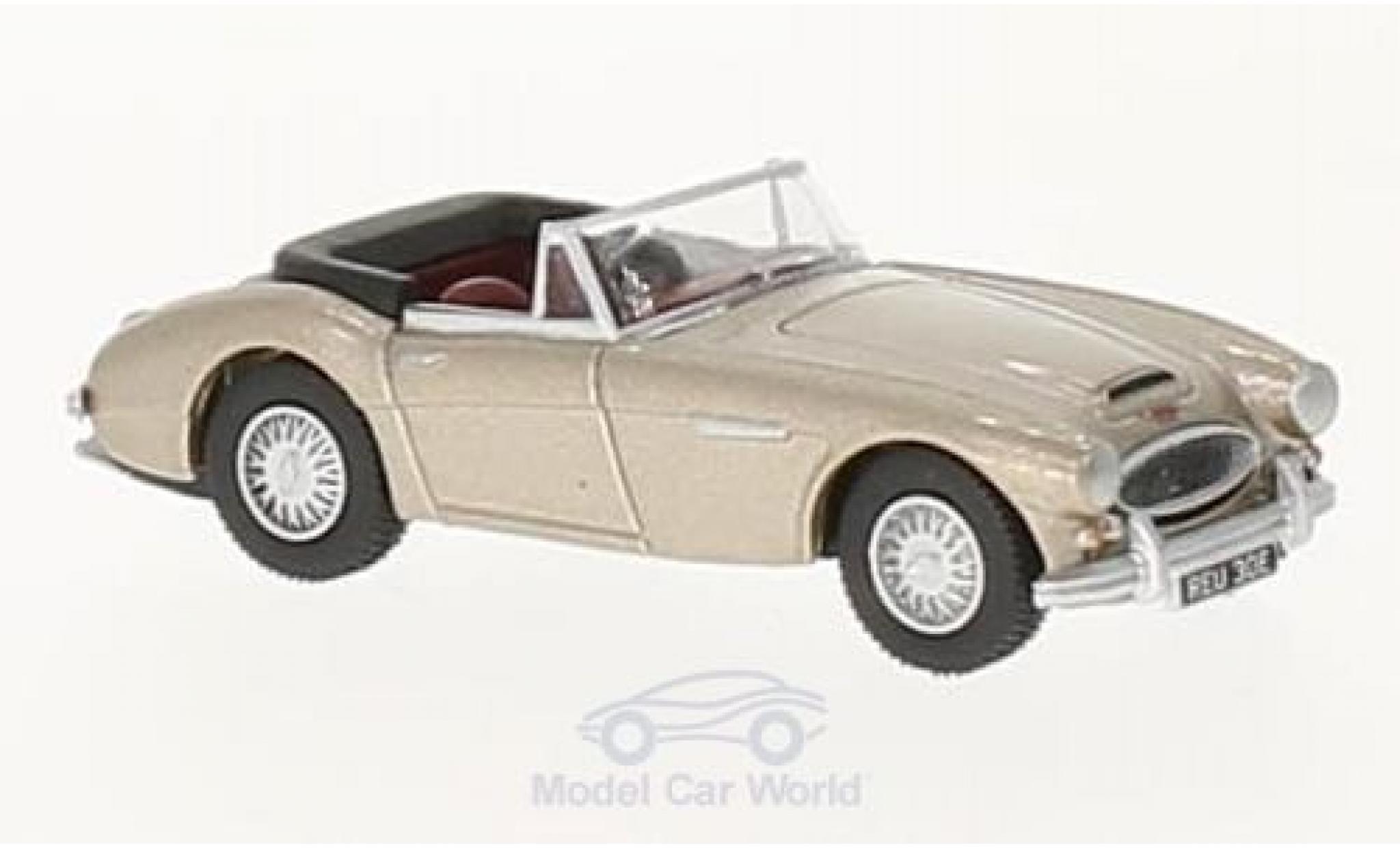 Austin Healey 3000 1/76 Oxford metallic-beige