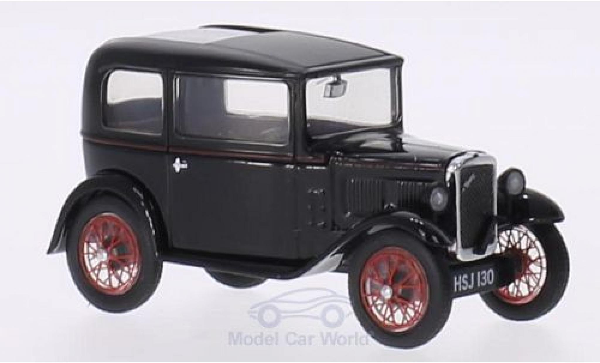 Austin Seven 1/43 Oxford RN Saloon noire/rouge RHD