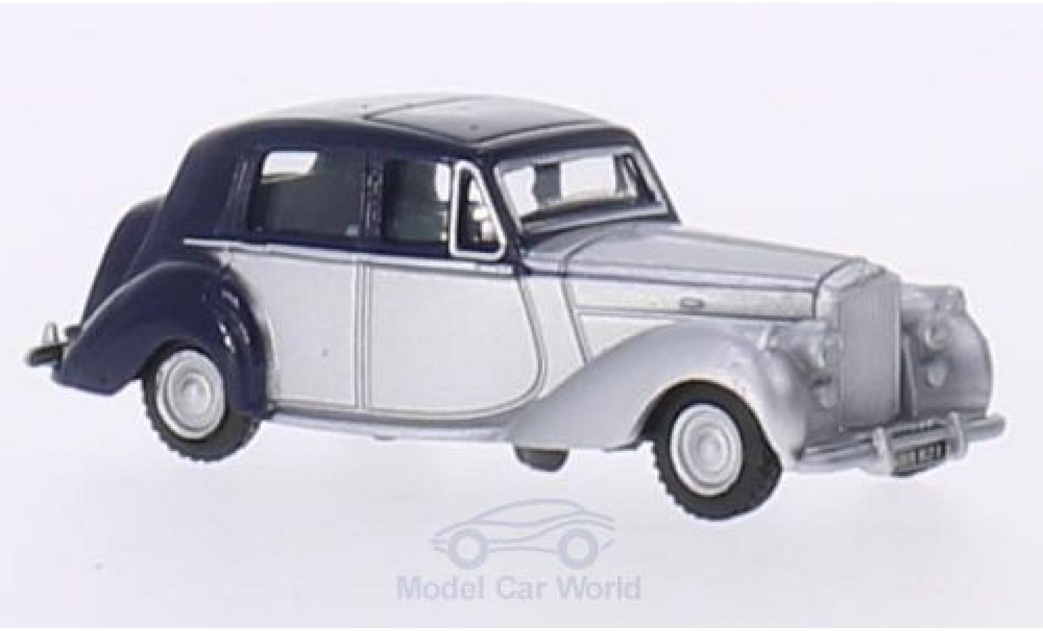Bentley Mark 6 1/76 Oxford MkVI bleue/grise RHD