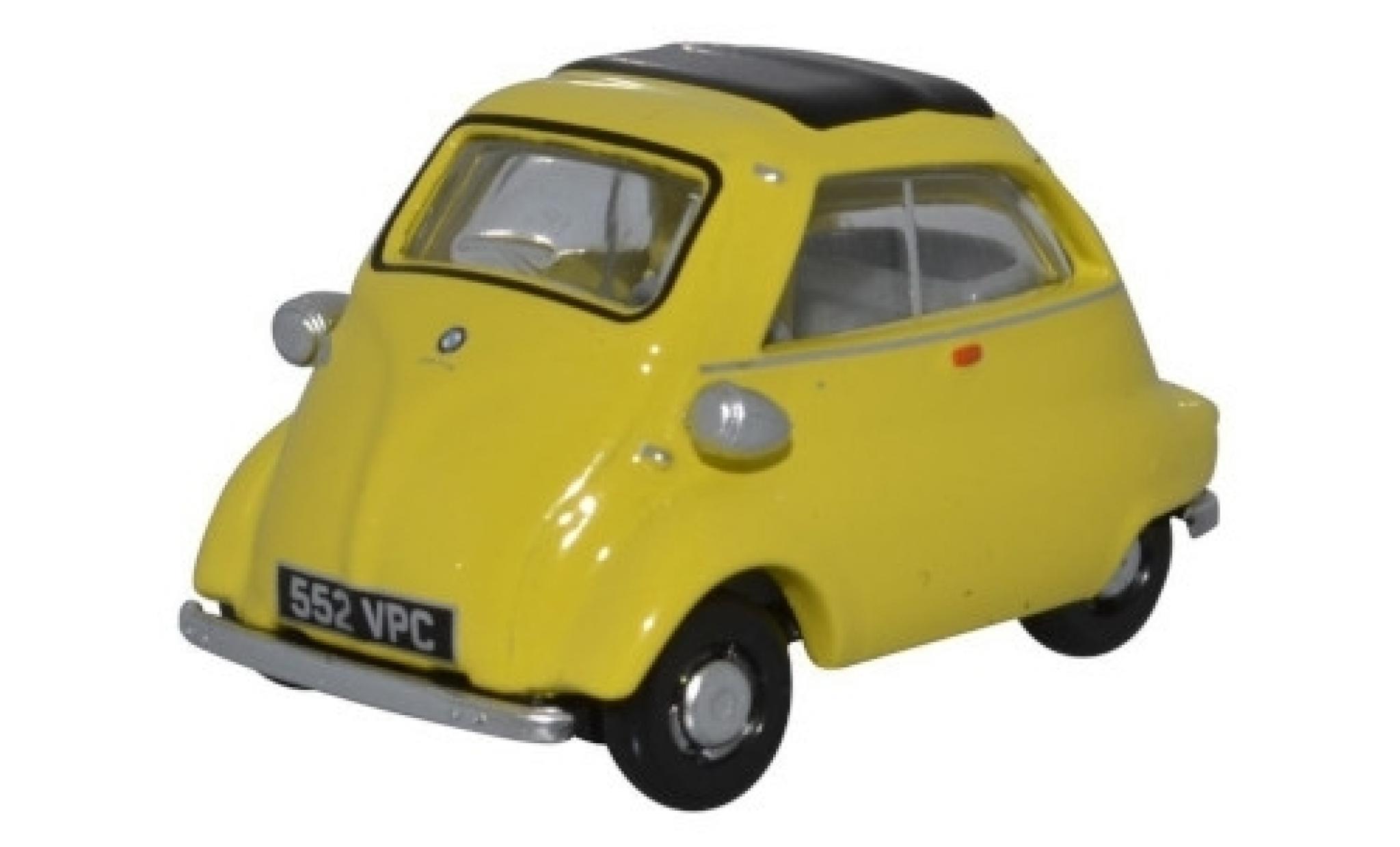 Bmw Isetta 1/76 Oxford jaune