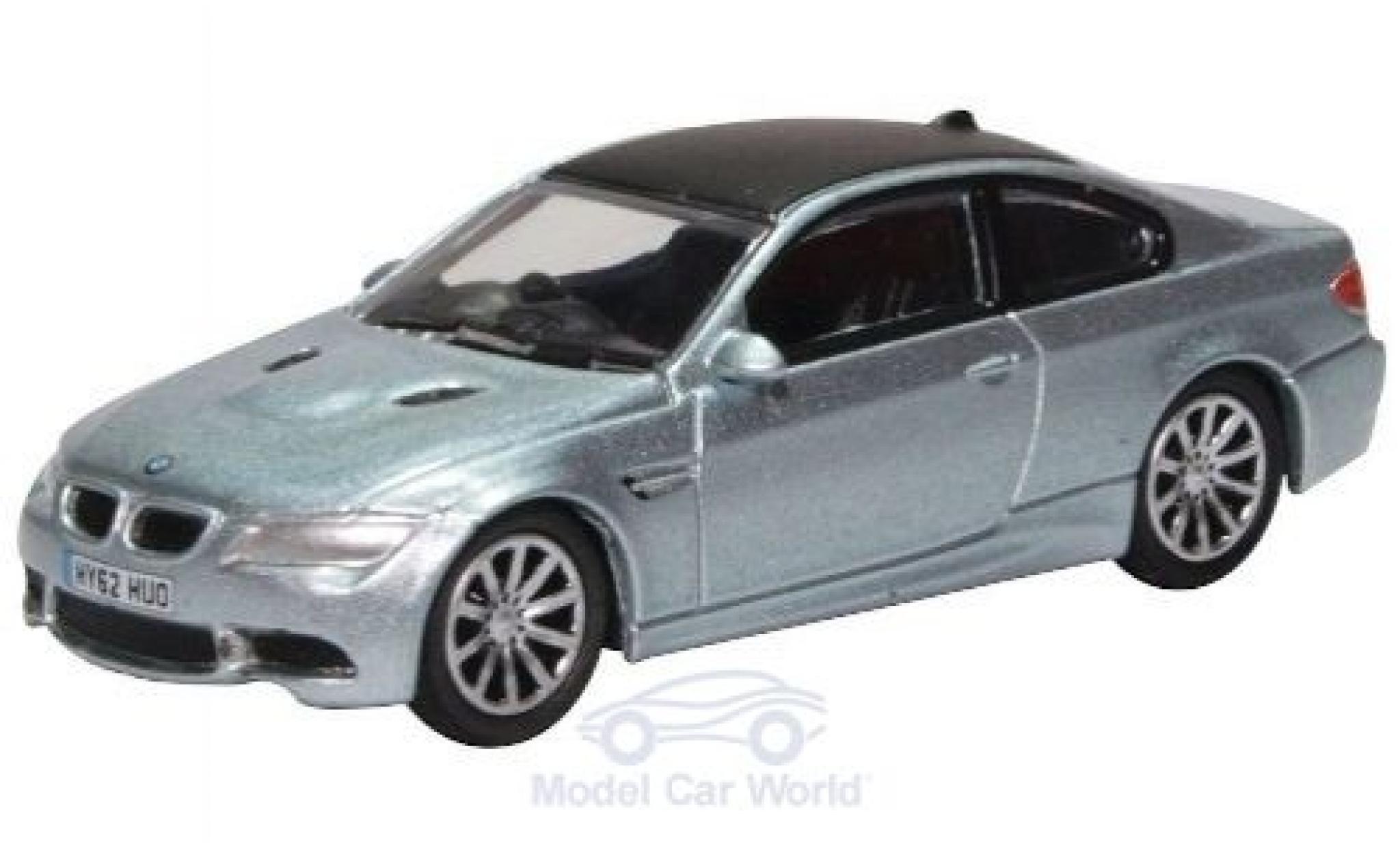 Bmw M3 1/76 Oxford (E92) Coupe metallise bleue